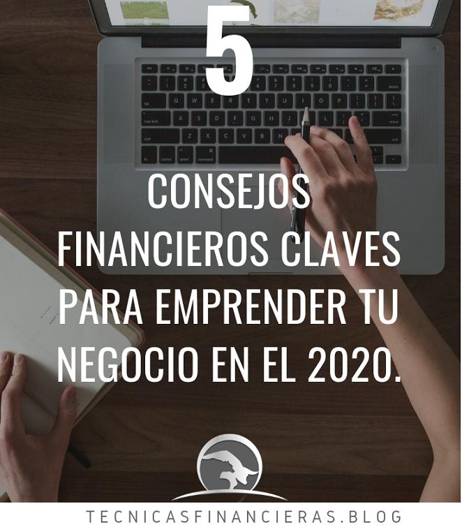 Consejos financieros para emprendedores