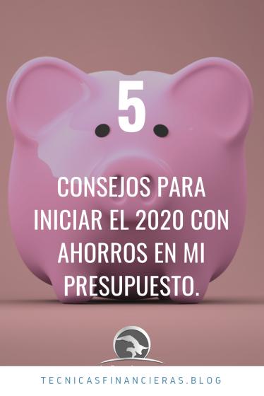 Ahorra en el 2020