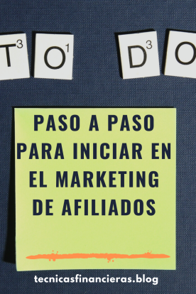 Paso a paso inicio Marketing digital